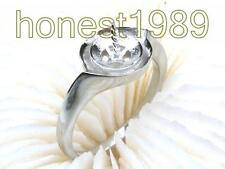 NEW 18K White Gold Sterling Silver 8-13mm Pearl Ring Setting FInding Jewelry
