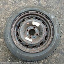 CITROEN SAXO VTR 14 INCH STEEL SPARE WHEEL WITH MICHELIN PILOT TYRE 185/55 R14 (Fits: Saxo)