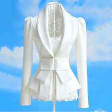 Women Fashion Slim Coat Ladies Casual Business Blazer Suit Jacket Coat Outwear