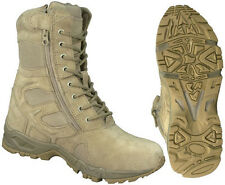Desert Forced Entry Boots with Running Shoe Comfort in a Military Boot Wide Size