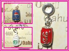 STARBUCKS PEPSI COKE COLA Choose Can Cup Europe Clasp Lobster Claw Clip USA MADE