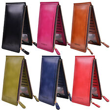 Women Pouch ID Credit Card Wallet Cash Holder Organizer Case Pocket PU Leather