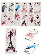 Cute HD Clear Soft TPU Rubber Gel Back Case Cover For iPhone Galaxy Moto iPod