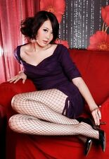 Mesh sexy Lady leggy fishnet Tight party club girl Stockings Lingerie Pantyhose