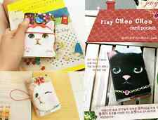 JETOY Hologram Blink Pocket 14 Sleeves Cat Kitty Name Card Case Holder Wallet