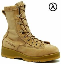 BELLEVILLE 330 DES ST Hot Weather Tan Steel Toe Flight Boot  - ALL SIZES
