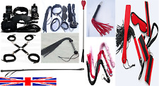 BONDAGE WHIPS HOGTIE CUFFS FLOGGER SHADES OF GREY CATSUIT RIDING CROP STRIPPER