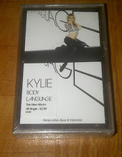 KYLIE MINOGUE - body language -2003 indonesia cassette - kylie minoque RARE