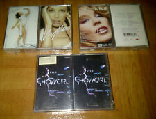 KYLIE MINOGUE - LOT 6 INDONESIA CASSETTE BRAND NEW - FREE SHIPPING!! madonna
