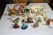 WDCC Ultimate Christmas Holiday Lot of 12 Ornament & Figure Mickey Minnie & more