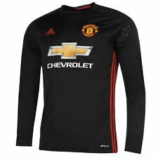 adidas Mens Gents Manchester United Goal Keeper Shirt 2016 2017 Tee Clothing