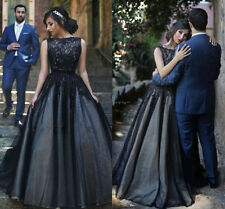 Luxury Black Quinceanera Dresses Formal Evening Pageant Party Prom Ball Dress