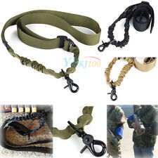 New Durable Tactical Single Point Sling For Bungee Rifle Airsoft Paintball Strap