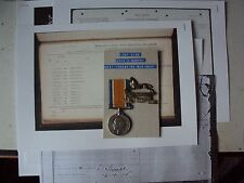 British War Medal - West Yorkshire Regiment