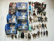 STAR WARS LOT OF FIGURES, SHIPS AND ACCESSORIES - SEE PHOTO! C