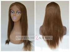 Best Indian Remy Human Hair Lace Front Wigs&Full Lace Wig Light Yaki Straight #6