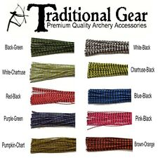 Archery ZEBRA WHISKER RUBBER BOWSTRING BOW STRING SILENCERS 4 Pc. Pack - 2 PAIR