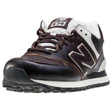 New Balance Ml574 Mens Trainers Dark Brown New Shoes
