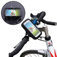 Waterproof Phone Case Cover Bag Pouch Bike Bicycle Handlebar Mount Holder Cradle