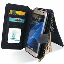 Samsung Galaxy Note 7 New Leather Wallet Cover Case Extra Card Slot For Note 7