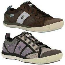 Ladies Cushe 'Pebble' Casual Lace Up Trainers Style ~ K