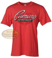 67 68 69 70 71 96 97 98 02 85 2010 2011 2012 CAMARO BY CHEVROLET RETRO T-SHIRT