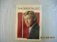 The Mentalist: The Complete Second Season (DVD, 2010, 5-Disc Set) Psychic Drama