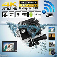 1080P WIFI 12MP Waterproof Sports Action Camera HD DV Helmet Pro Camcorder DVR