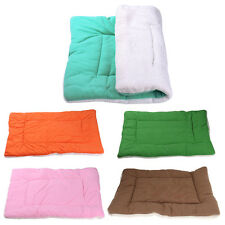 Washable Warm Soft Pet Dog Puppy Cat Kennel Cage Pad Bed Cushion Fleece Mat Nest