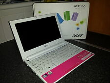 acer aspire one happy notebook laptop pink