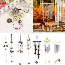 Big Bells/ Tubes Metal Wind Chime Garden Yard Charm Hanging Feng Shui Ornament