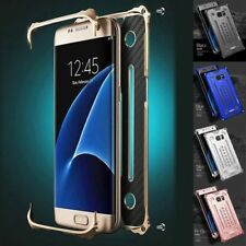 Luxury Shockproof Metal Aluminum Bumper Cover Case For Samsung Galaxy S7 S7 Edge