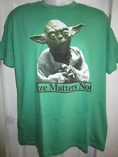 HOT TOPIC:  Star Wars Yoda Size Matters Not T-Shirt