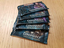 MTG Conspiracy Take the Crown 5 Booster Packs - Sealed from new box - Fast Post