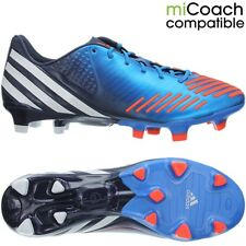 Adidas Predator LZ TRX FG blue/white/orange professional men's soccer cleats NEW