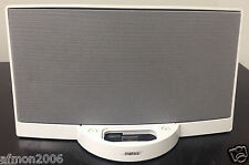 White Bose SoundDock Digital Music Sound Dock for Older Apple Ipod Iphones