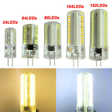 1x G4 Bi-Pin 24/64/80/104/152 3014 SMD LED Light Bulb Silicone Lamp 110/220V New