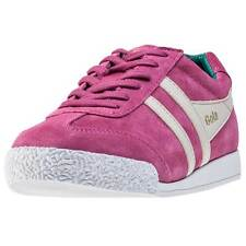 Gola Harrier Womens Trainers Magenta White New Shoes