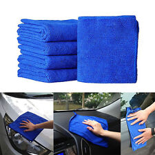 5pc Microfiber Absorbent Car Drying Cleaning Towel Polish Cloth Kitchen Washing