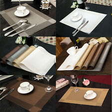 Resuable Placemats Insulation Mat Table Coasters Kitchen Dining Room Table Mat