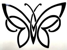 Butterfly Silhouette Sexy Cool Car Truck Window Vinyl Decal Sticker 12 Colors