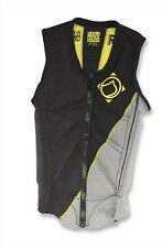 Liquid Force Women's Z CARDIGAN Wakeboard Impact Vest Coal Yellow XS s M L 62335