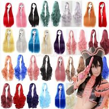 Lowest Price Womens Anime Cosplay Wig Full Head Long Hair Wigs 24/32/40 Inches