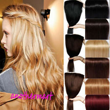 US SELL Clip In 100% Real Remy Human Hair Extensions Full Head Highlights P301
