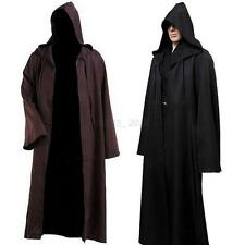 Star Wars Men Women Jedi Warrior Hooded Cloak Robe  Halloween Cosplay Costume