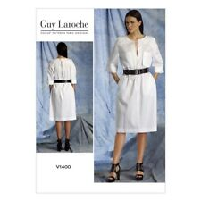 Vogue Guy Laroche Misses Sewing Pattern 1400 Dress