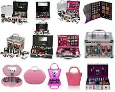 VANITY CASE BEAUTY COSMETIC SETS GIFT TRAVEL MAKE UP CARRY BOX GIRLS XMAS GIFT