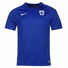 Nike Finland Away Jersey 2016 Mens Blue Football Soccer Top Shirt