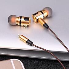 Plug Detachable Earphone X46M In-ear Golden And Gray HiFi Earphones Wired