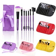 7PCS Cosmetic Make Up Makeup Eyeshadow Brushes Brush Set Kit Tool W/ Pouch AN18